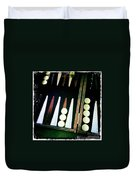 Backgammon Anyone Duvet Cover