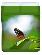 Backlit Butterfly Duvet Cover