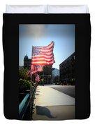Backlit Flag Duvet Cover