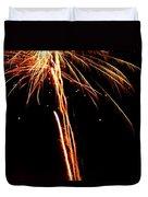 Backyard Fireworks 2012 3 Duvet Cover