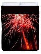 Backyard Fireworks 2012 4 Duvet Cover