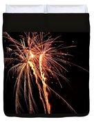 Backyard Fireworks 2012 5 Duvet Cover