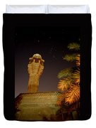 Baghdad Night Sky Duvet Cover by Rick Frost