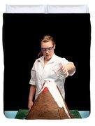 Baking Soda Volcano 3 Of 4 Duvet Cover