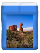 Balance Rock I Duvet Cover