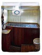 Balclutha Victorian Ship's Head Duvet Cover by Daniel Hagerman