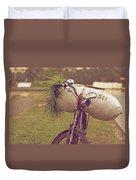 Bali Bike Duvet Cover