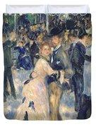 Ball At The Moulin De La Galette Duvet Cover