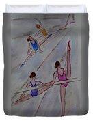 Ballerina Studio Duvet Cover