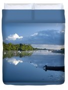Ballina, Co Mayo, Ireland Morning Duvet Cover
