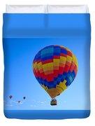 Balloon Fiesta Duvet Cover