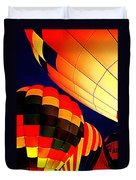 Balloon Glow 1 Duvet Cover