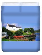 Ballycrovane, Beara Peninsula, Co Cork Duvet Cover