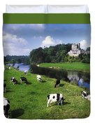 Ballyhooley, Co Cork, Ireland Friesian Duvet Cover