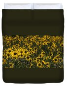 Balsamroot Field In Grand Teton Duvet Cover