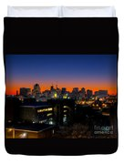 Baltimore At Sunset Duvet Cover