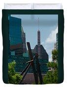 Baltimore Skyline Duvet Cover
