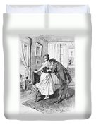 Balzac: Cousin Bette Duvet Cover