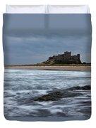 Bamburgh Castle Duvet Cover