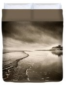 Bamburgh Castle Duvet Cover by Simon Marsden