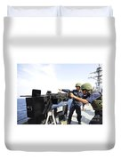 Bangladesh Navy Sailors Fire Duvet Cover
