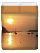 Bantry Bay, Bantry, Co Cork, Ireland Duvet Cover by Peter Zoeller