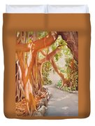 Banyan In The Afternoon Duvet Cover