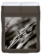 Barbbed Wire 1 Duvet Cover