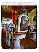 Barber - Barber Chair Duvet Cover