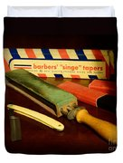 Barber - Keep The Razor Sharp Duvet Cover