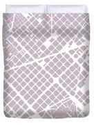 Barcelona Fragment Duvet Cover