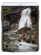Baring Falls In Spring Duvet Cover