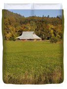 Barn Near Murphy Duvet Cover