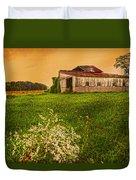 Barn On Rt. 134 Highland Co Duvet Cover