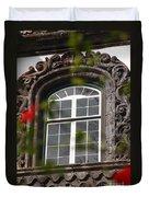 Baroque Style Window Duvet Cover