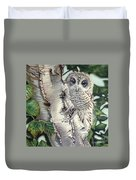 Barred Owl II Duvet Cover