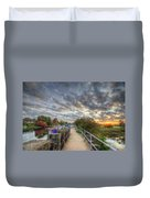 Barrow Sunrise Duvet Cover