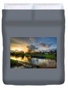 Barrow Sunset Duvet Cover