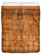 Bas Relief Duvet Cover