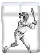 Baseball Kid Duvet Cover