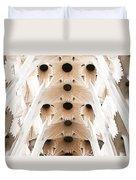 Basilica De La Sagrada Familia In Barcelona Duvet Cover
