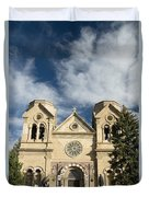 Basilica Of St Francis Duvet Cover