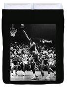 Basketball Game, 1966 Duvet Cover