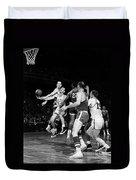 Basketball Game, C1960 Duvet Cover