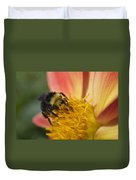 Bathing In Pollen  Duvet Cover