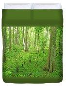 Baton Rouge Blueonnet Swamp  La Duvet Cover
