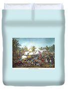 Battle Of Atlanta, 1864 Duvet Cover