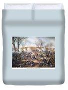 Battle Of Fort Donelson Duvet Cover