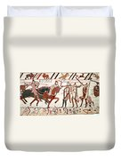 Battle Of Hastings Bayeux Tapestry Duvet Cover