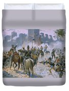 Battle Of Solferino And San Martino Duvet Cover